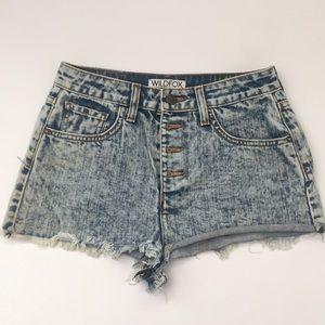 Wildfox Burnout Shorts